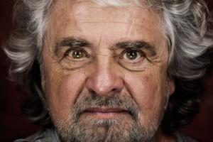 Beppe Grillo. Francesco Zizola—NOOR for TIME